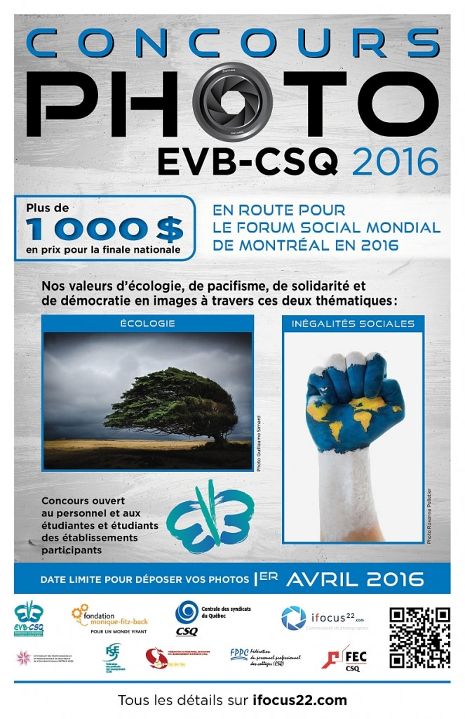 Affiche concours photo evb-csq 2016
