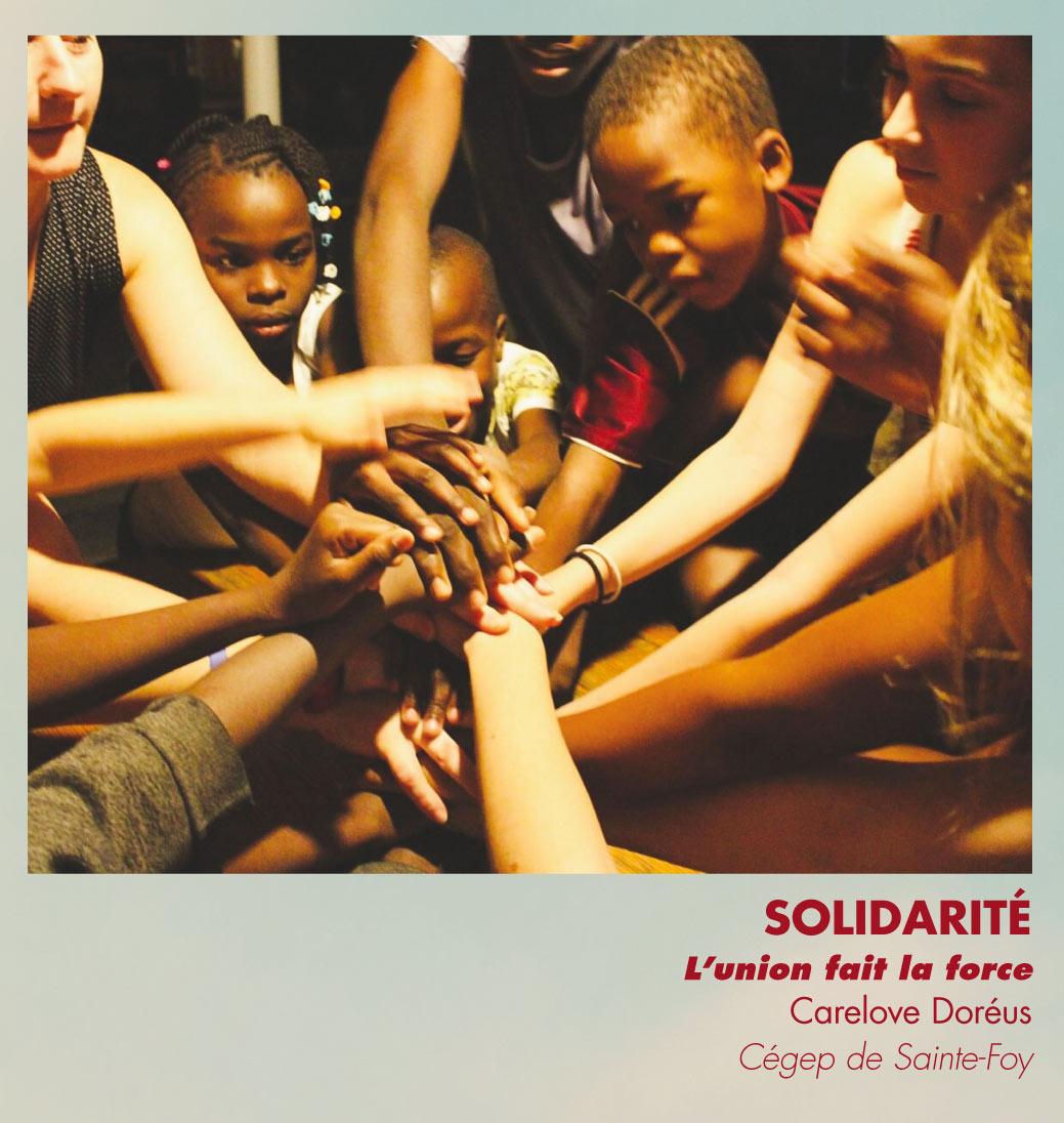 Solidarité - L'union fait la force - Carelove Doréus