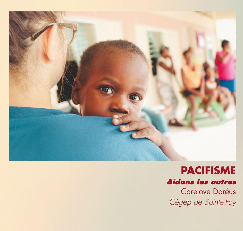 Pacifisme - Aidons les autres - Carelove Doréus